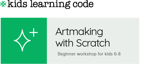 Kids Learning Code. Artmaking with Scratch. Beginner workshop for ages 6-8