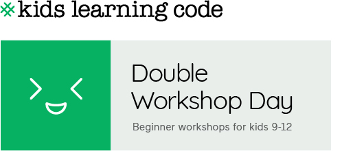 Kids Learning Code. Double workshop day.