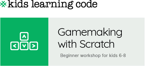 Kids Learning Code. Gamemaking with Scratch for kids 6-8