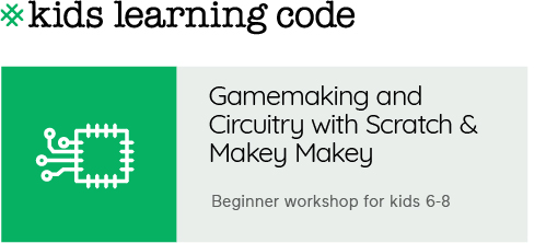 Kids Learning Code. Gamemaking with Scratch and Makey Makey. Beginner workshop for kids 6-8.
