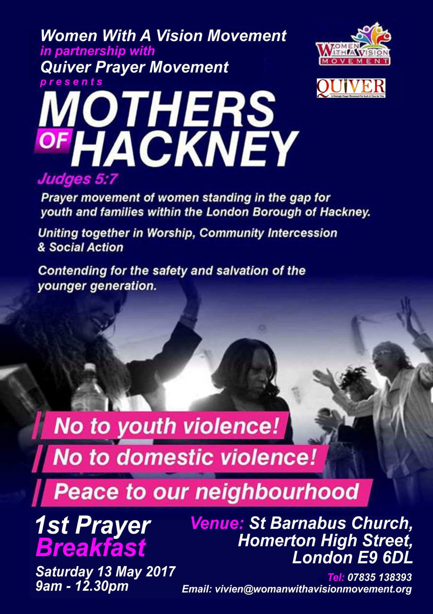 Mothers of Hackney flyer