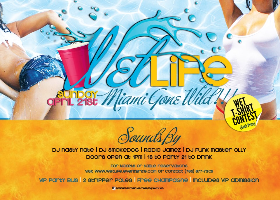 #WETLIFE COME EXPERIENCE THE SEXIEST POOL PARTY IN MIAMI BRING YOUR