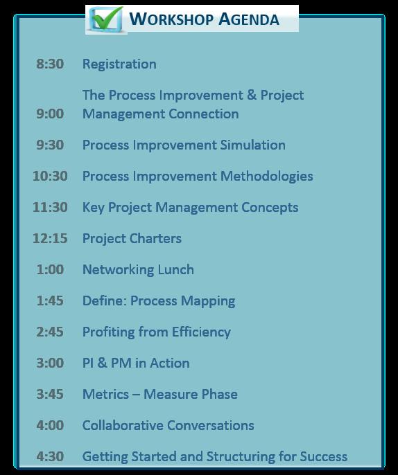 Agenda for March 1 Workshop