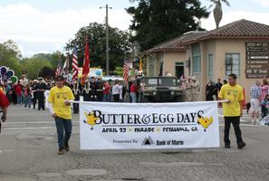 Petaluma's 29th Annual Butter & Egg Days Parade and Festival