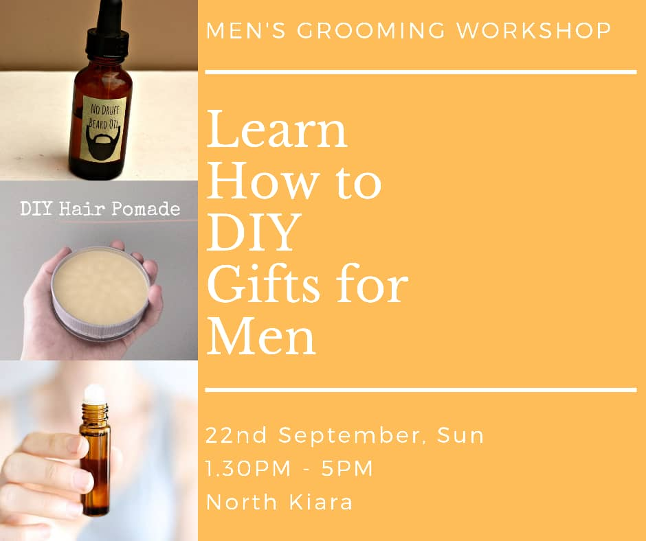 Men's Grooming Workshop