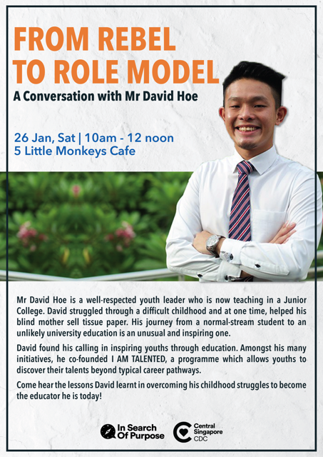 In Search of Purpose #22 - From Rebel to Role Model: A Conversation with David Hoe