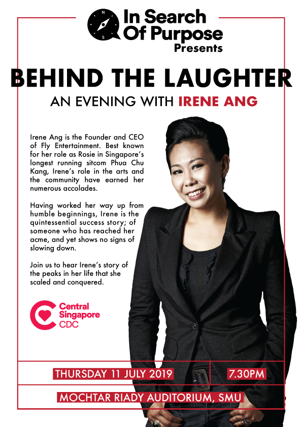 In Search of Purpose #24 - Behind the Laughter: An Evening with Irene Ang