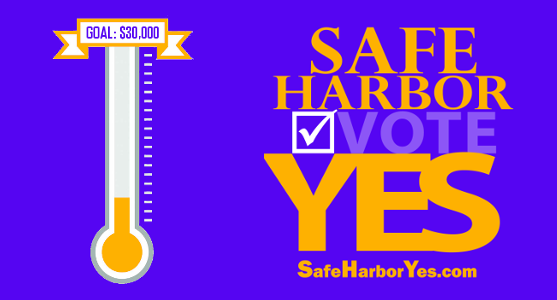 Safe Harbor Yes Fundraising Goal