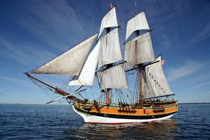 Mock Battles Aboard the Historic Tall Ships