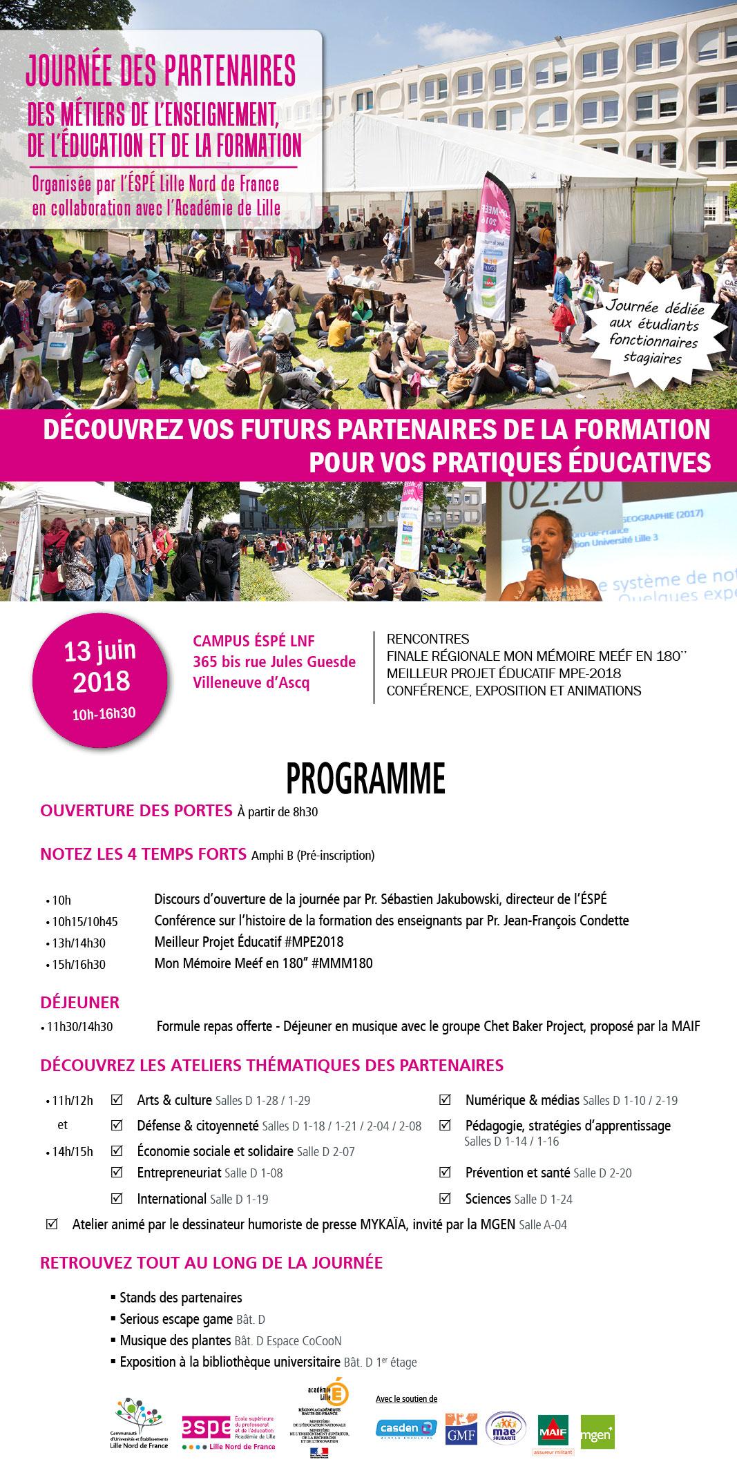 Programme de l'évènement