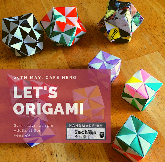Let's Origami Poster