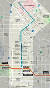 Logo-Metro East SFV Corridor Line Map