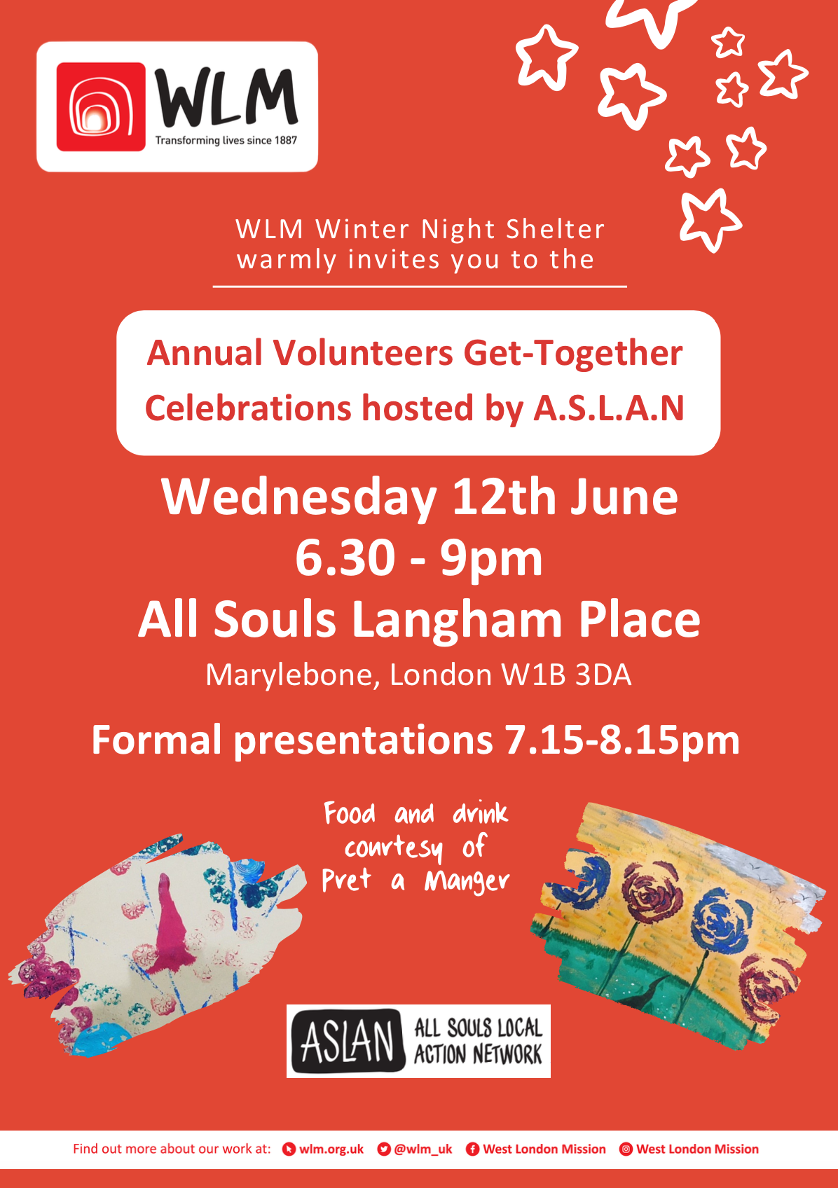 Annual Volunteers get-together celebration Winter Night Shelter 2019