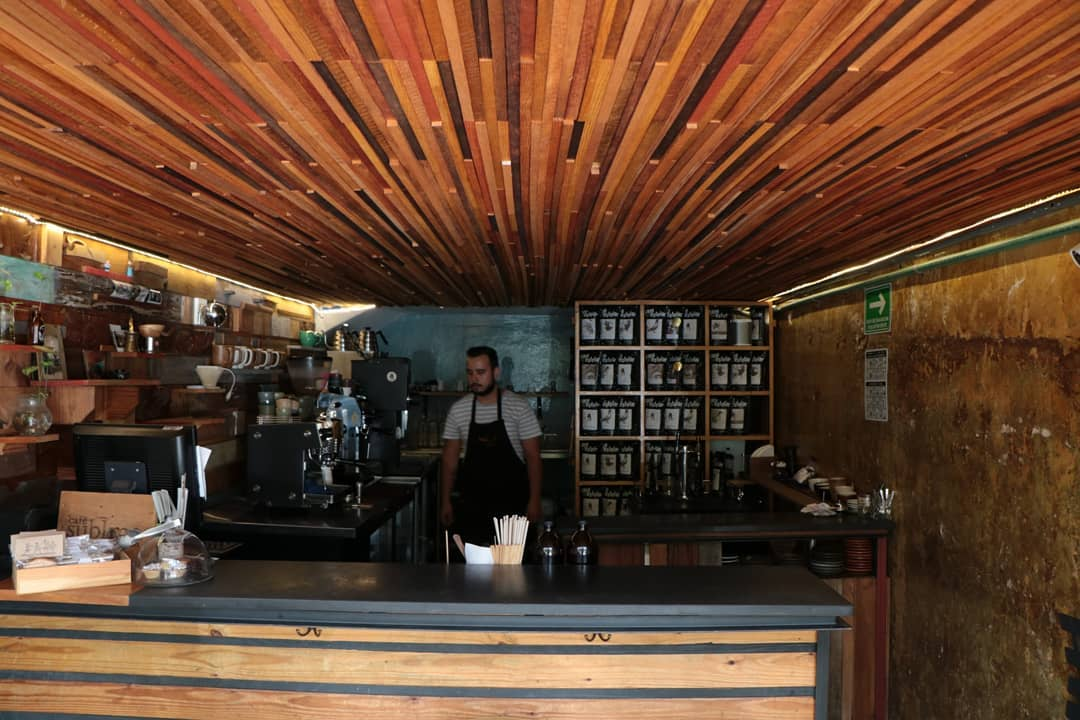 specialty coffee bar