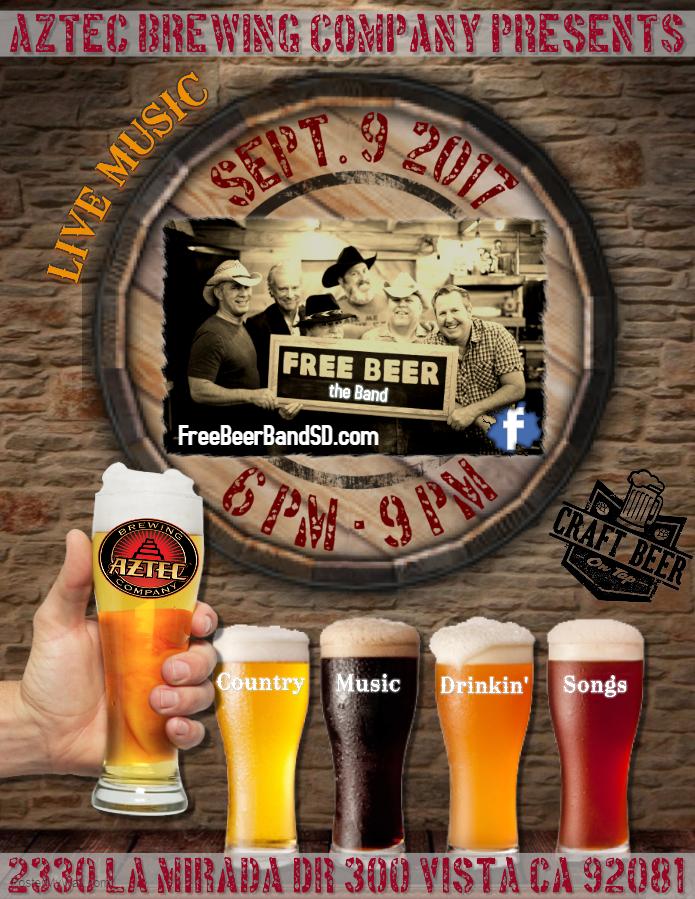 Free Beer at Aztec