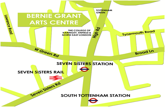 getting to Bernie Grant Arts Centre