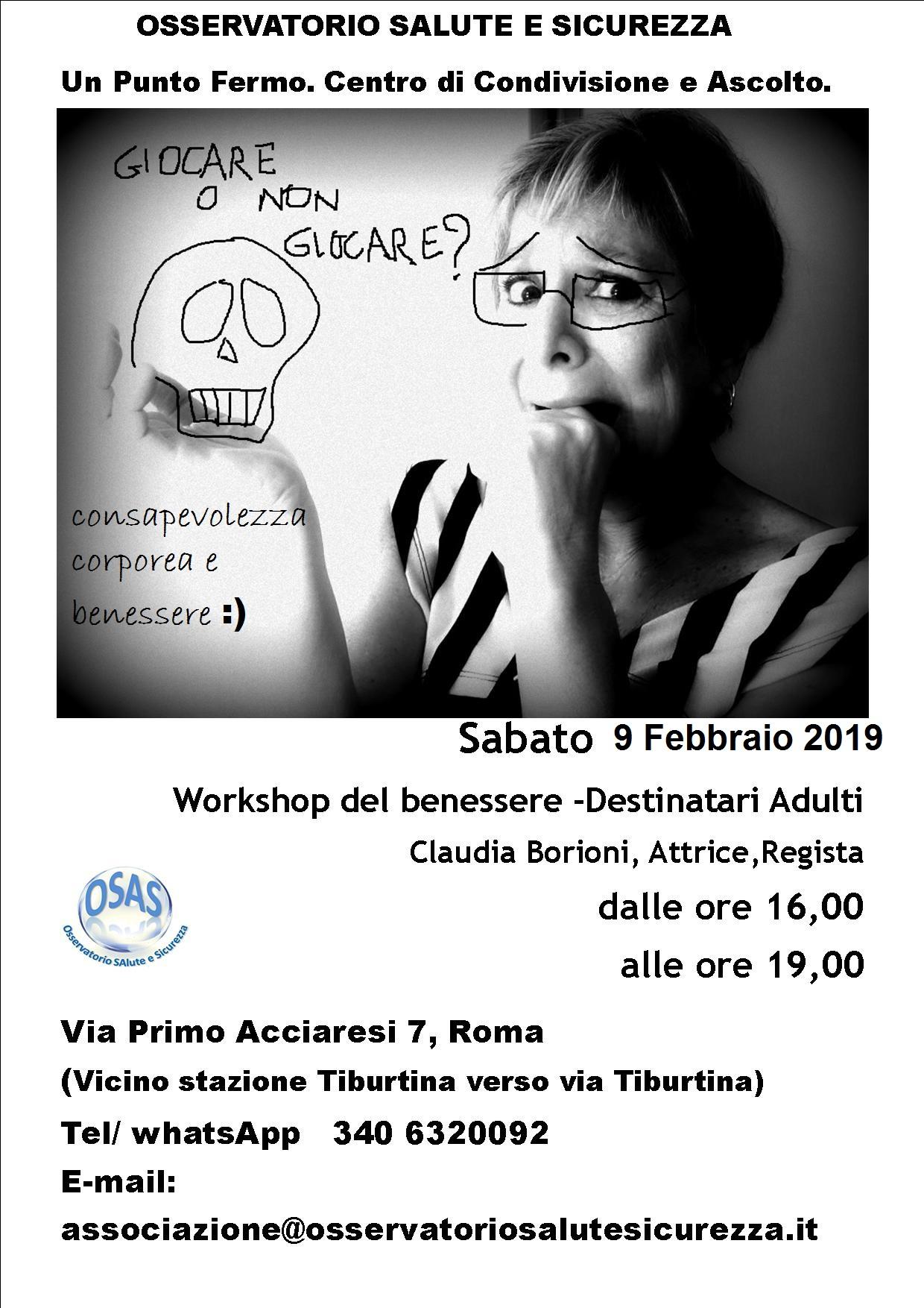 workshop 9 febbraio