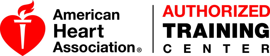 American Heart Assoc. Training center Logo