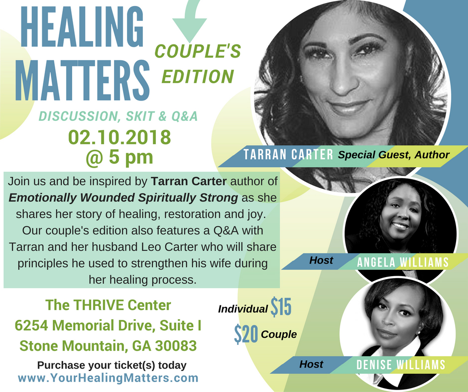 Healing Matters Couples Edition with Tarran Carter