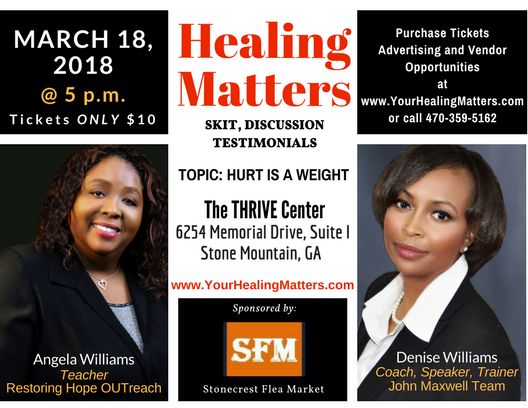 Healing Matters Empowerment Session 03182018
