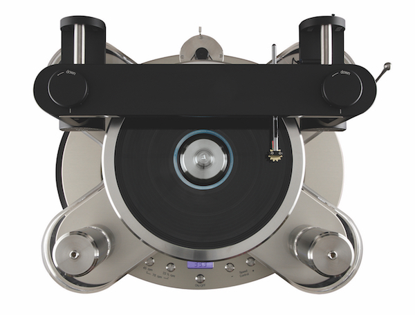 Clearaudio Statement V2 turntable - top view
