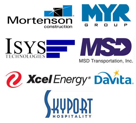 Logos for DTC Career Fair July
