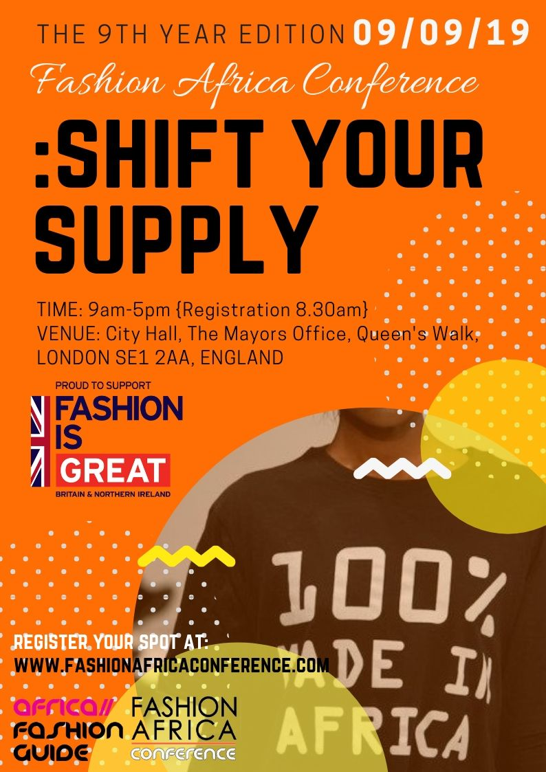 Fashion Africa Conference 2019 plus 1 day Business