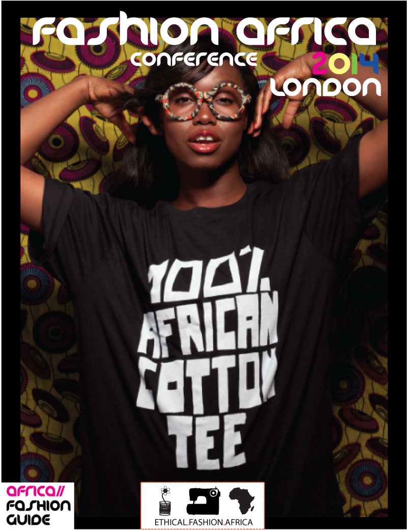 Africa Fashion Guide African Cotton Campaign 2013 - Model Nana Afua Antwi, Photo credits - Abi Oshodi of AO Photography