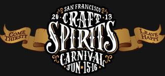 San Francisco Craft Spirits Carnival  - June 15 & 16 2013