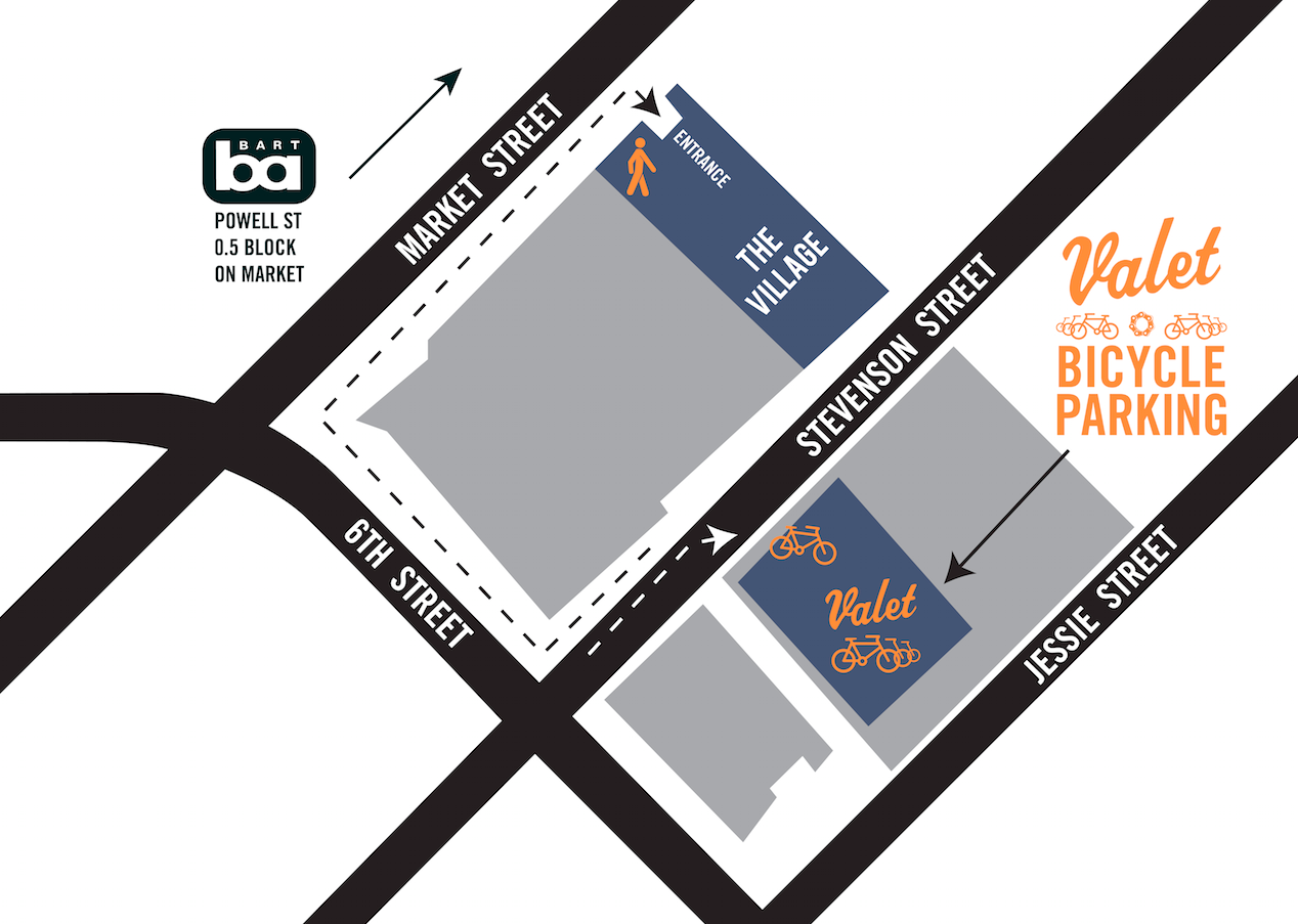 Winterfest 2016 Valet Parking Map