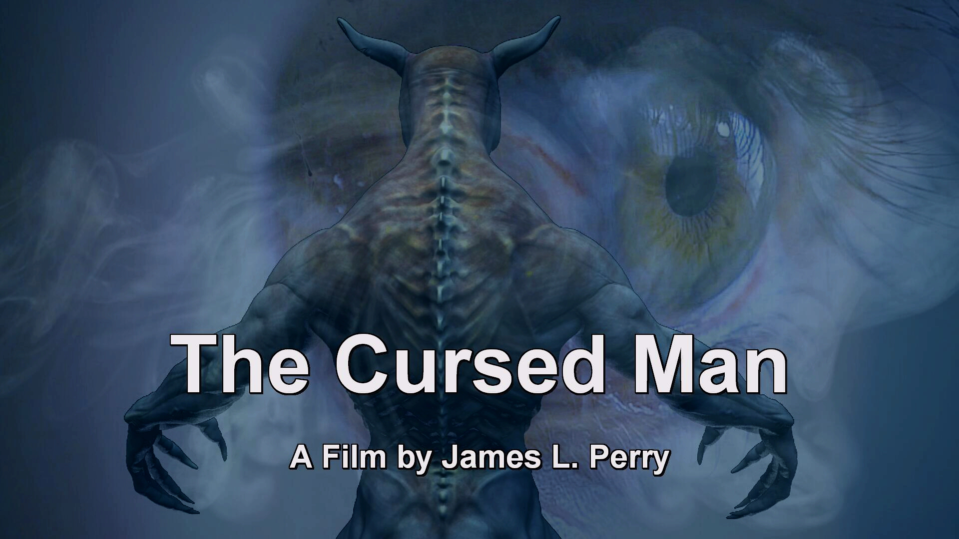 THE CURSED MAN - movie poster