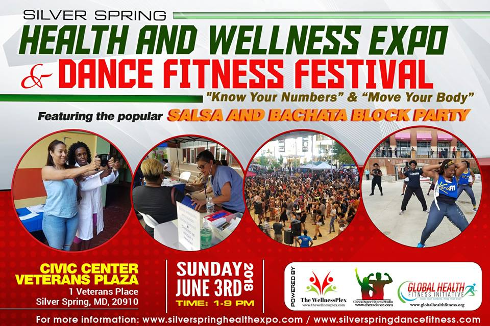Silver Spring Health and Wellness Expo & Dance Fitness Festival