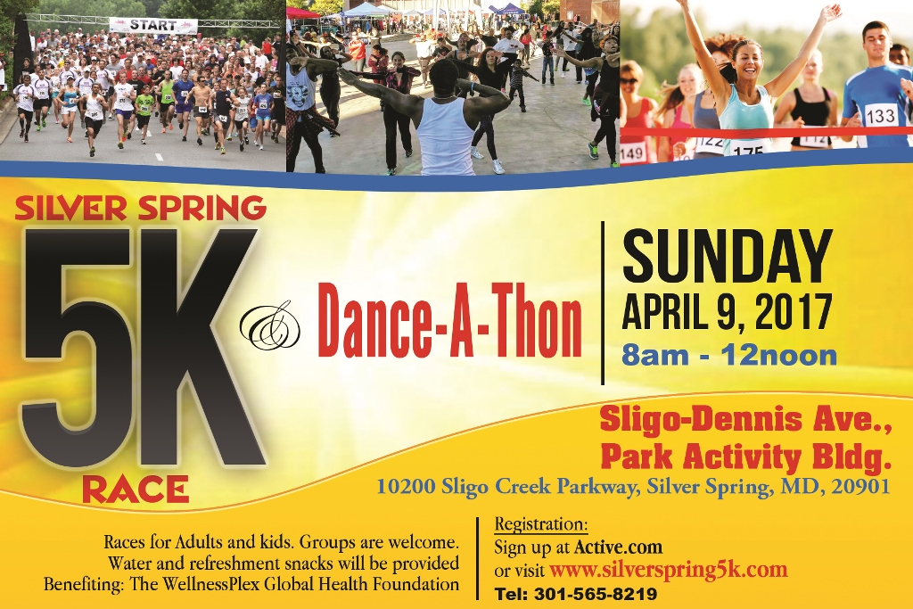 Silver Spring 5k race