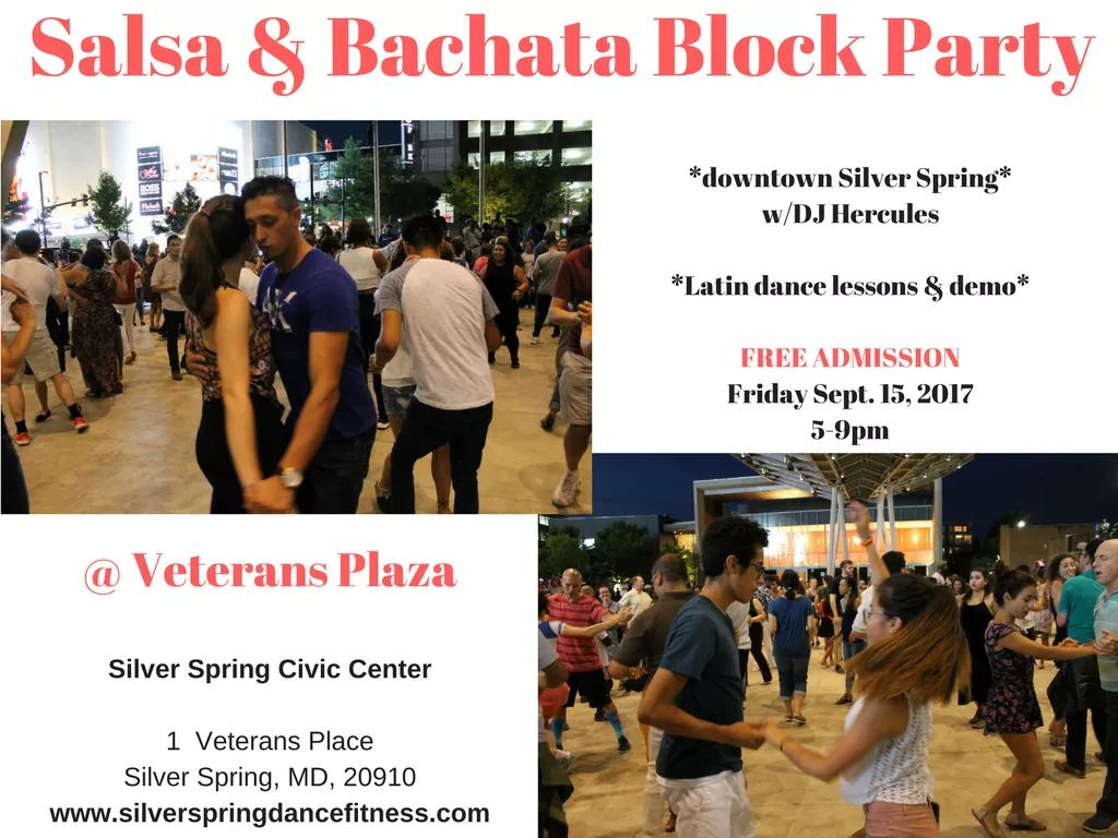 Salsa and Bachata Block Party to conclude the event