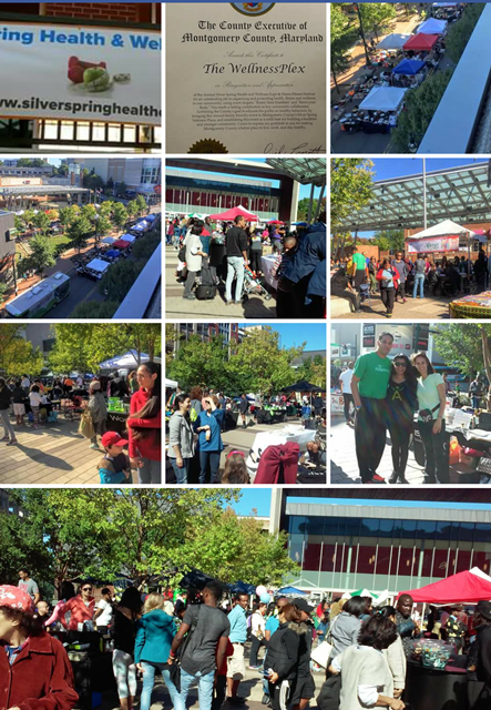 Pictures from the Silver Spring Health and Wellness Expo