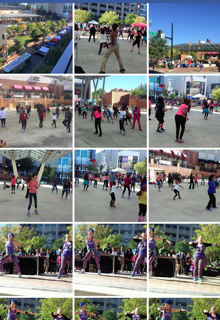 Pictures from Silver Spring Dance Fitness Festival