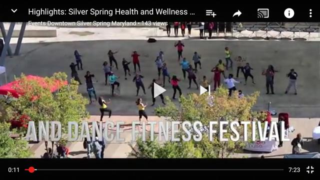 Highlight video of the Dance Fitness Festival