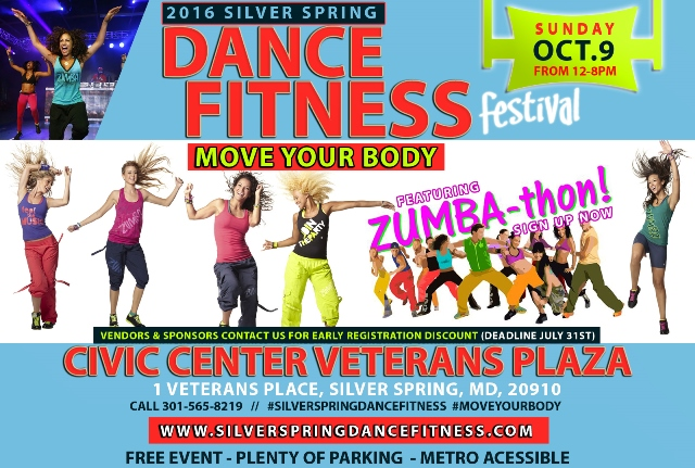 Silver Spring Dance Fitness Festival