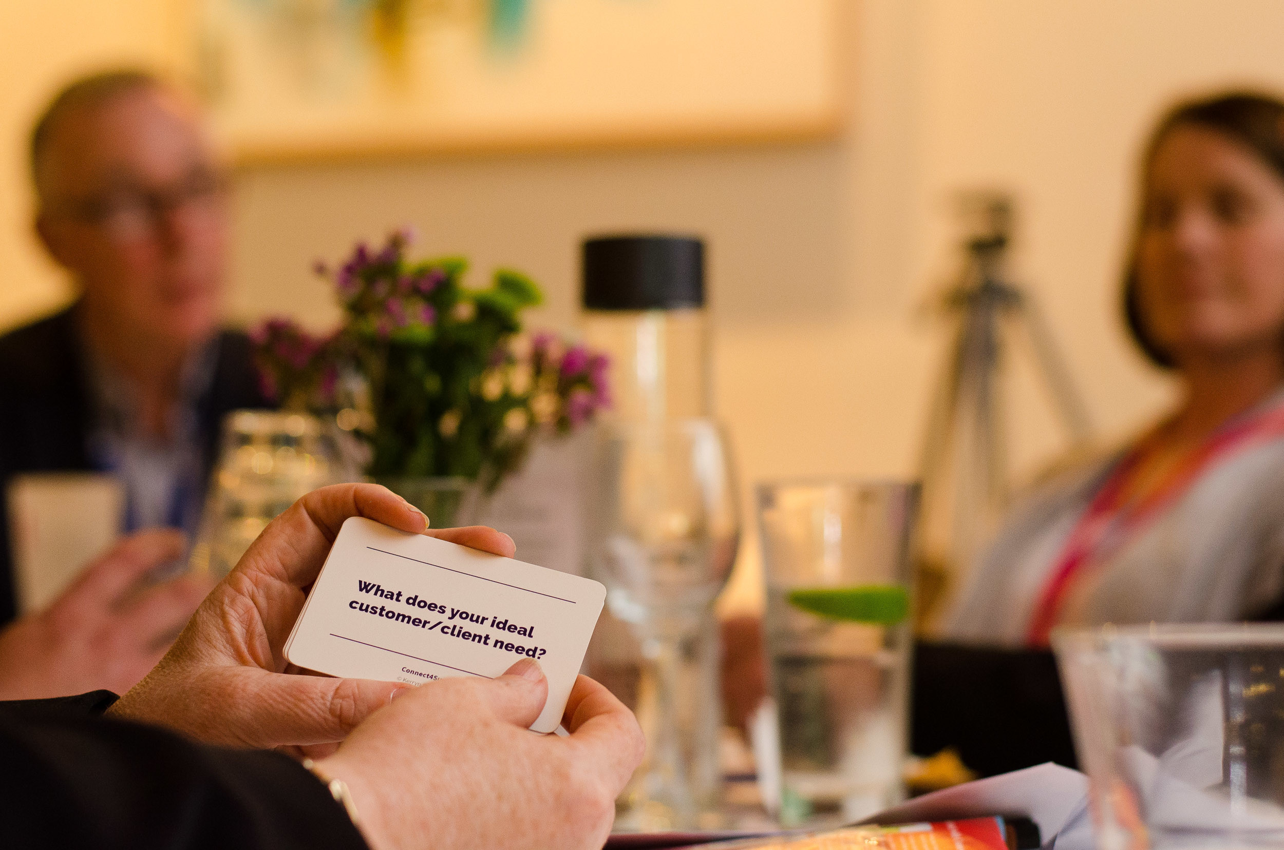 YTM Conversation Cards make business networking awesome