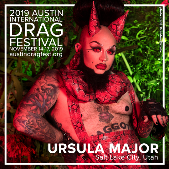 2019 HEADLINER URSULA MAJOR
