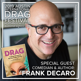 Special Guest Frank DeCaro