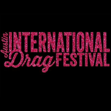 Pink Glitter Festival Logo T-shirt