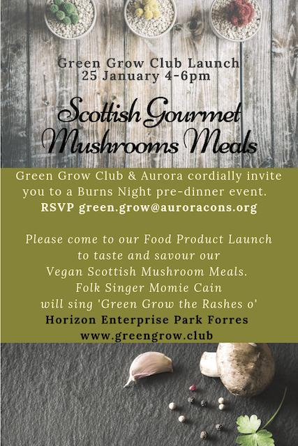 Green Grow Launch Invite