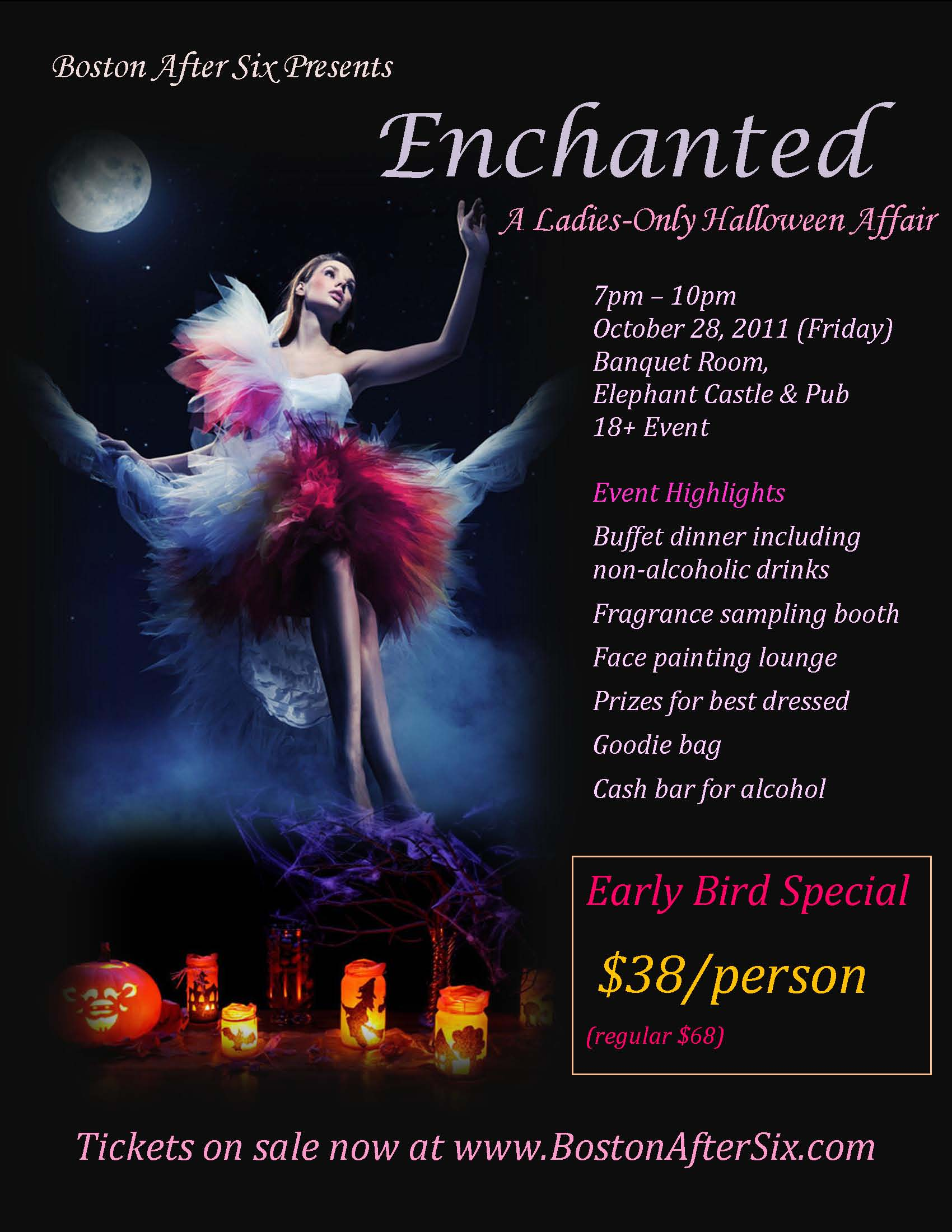 Enchanted - A Ladies-Only Halloween Affair