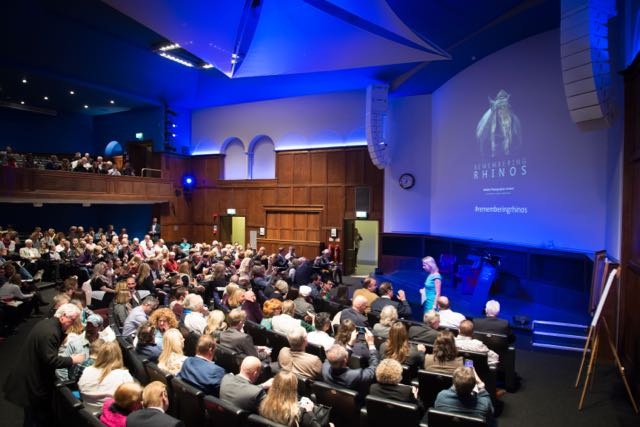 Remembering Rhinos launch at the RGS