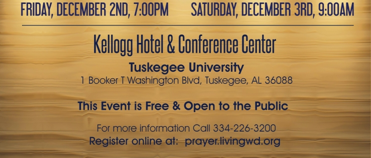 LWCC Tuskegee Prayer Conference