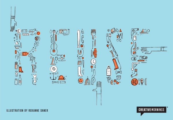 CreativeMornings Auckland - Reuse