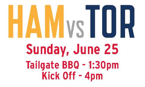 York University Tailgate starts at 1:00pm. Game kickoff at 4:00pm