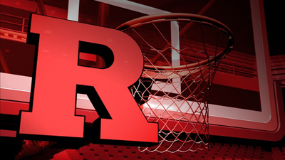 RU Basketball R & Hoop