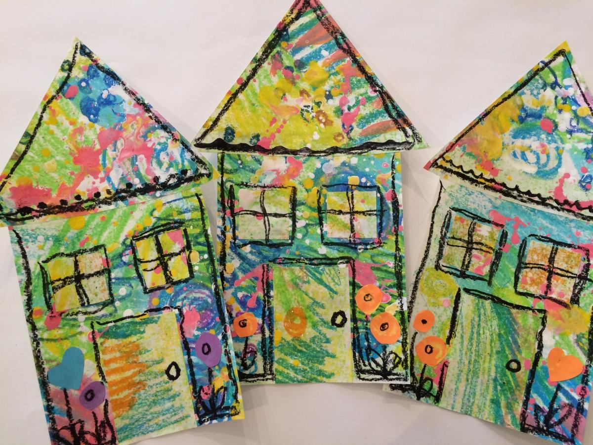 February Preschool Picasso